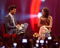 Kristen Stewart and Taylor Lautner promoting in Stockholm (June 21). - twilight-series photo