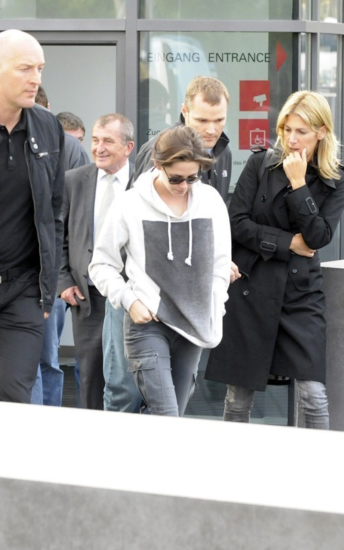 Kristen out in Berlin