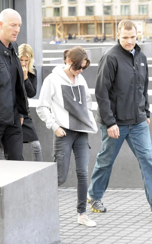 Kristen out in Berlin