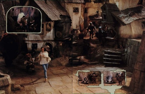 Labyrinth wallpaper called Labyrinth Photo Album