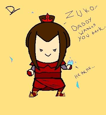 Look! I made Azula!