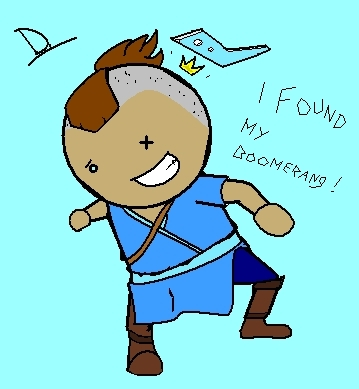 Look! I made Sokka!
