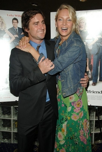 Luke Wilson and Uma Thurman