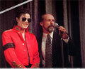 MICHAEL IN RED - michael-jackson photo