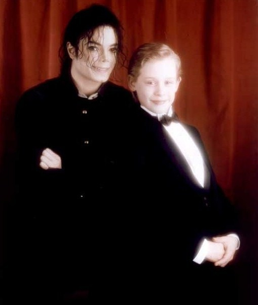 MJ with Mac :p