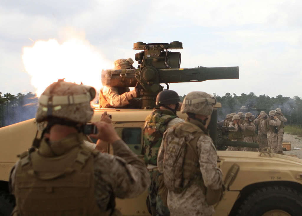 Marine Corps images Marines Fire TOW Missile HD wallpaper ...