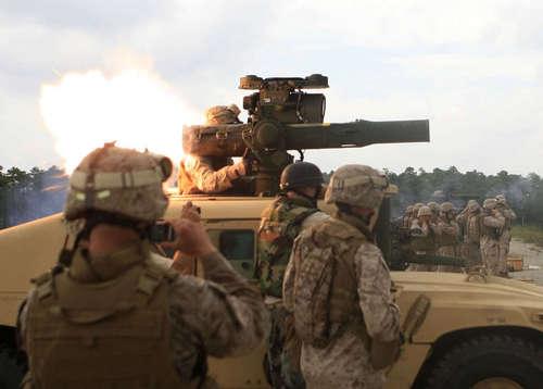Marines 火, 消防 TOW 导弹
