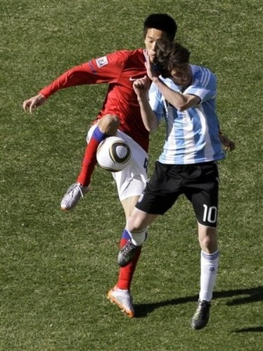 Messi - 2010 FIFA World Cup - vs. South Korea
