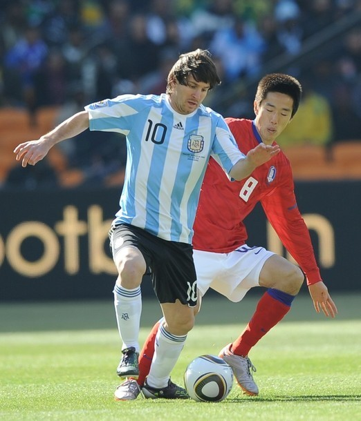Messi - 2010 FIFA World Cup - vs. South Korea - Lionel ...