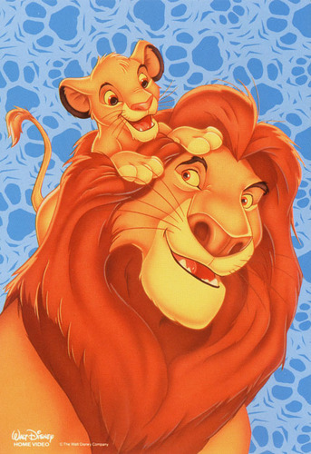 the lion king wallpaper called Mufasa & Simba