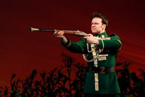 Nick as Fiyero