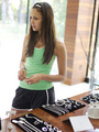 Nina @ Muscle Milk Light Women's Fitness Retreat