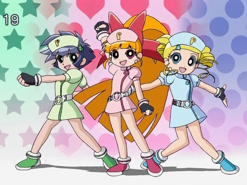 powerpuff girls Z wallpaper entitled PPGZ