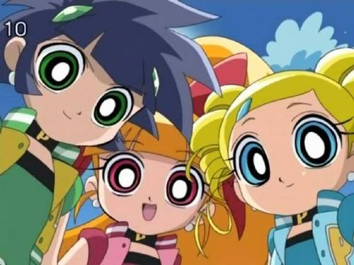 powerpuff girls Z 바탕화면 titled PPGZ