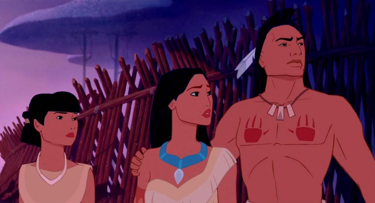 Pocahontas, Kocoum And Nakoma