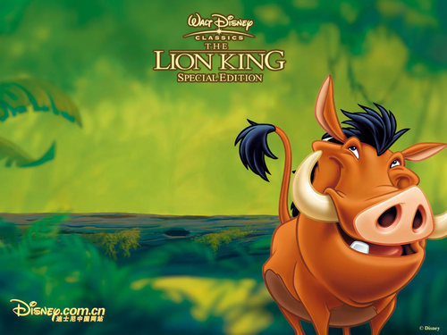 The Lion King wallpaper titled Pumbaa