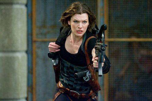 film horror wallpaper entitled Resident Evil: Afterlife