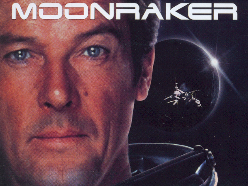 Image result for moonraker roger moore pic