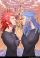 Saix and Axel - saix fan art