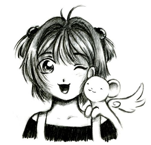 Sakura and Kero