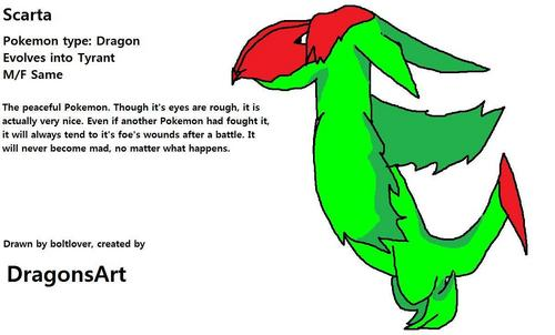 Scarta created by DragonsArt, but draw by boltover