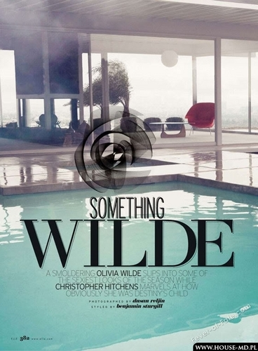 Something Wilde – Photoshoot with Olivia Wilde