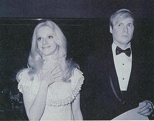Sondra Locke & husband