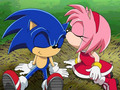 Sonic and Amy - sonamy fan art