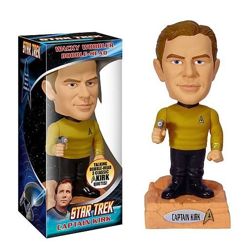 ster Trek Captain Kirk Talking bobble head