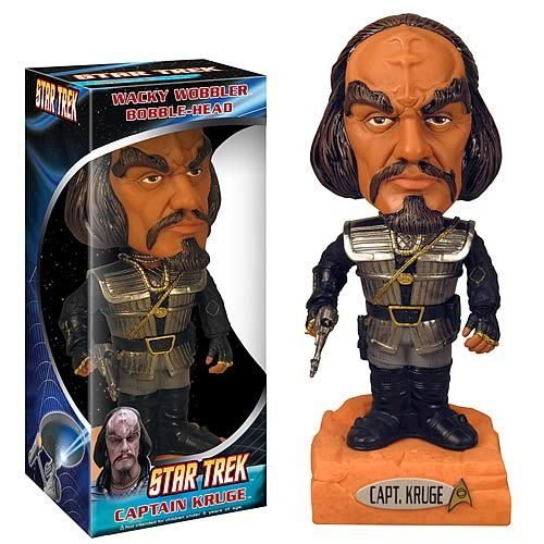 তারকা Trek Klingon bobblehead