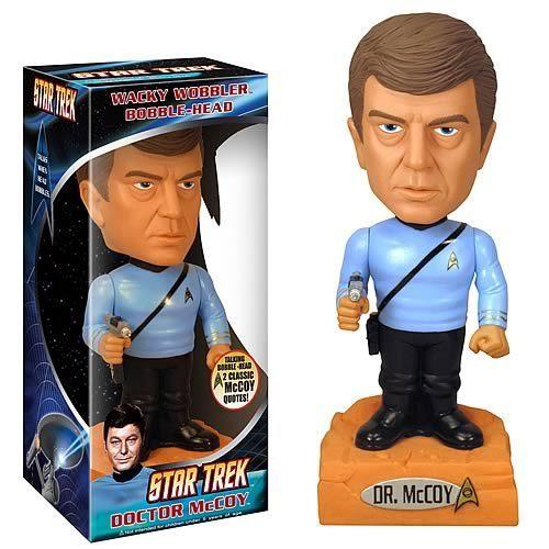 별, 스타 Trek McCoy Talking bobblehead