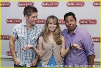 Taking Over Radio Disney(June 1,2010)