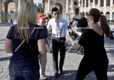 Taylor Sight-Seeing in Rome, Italy, June 17, 2010