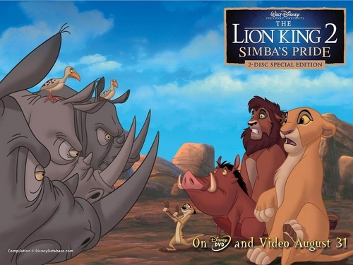 The Lion King 2 - the-lion-king-2-simbas-pride Wallpaper