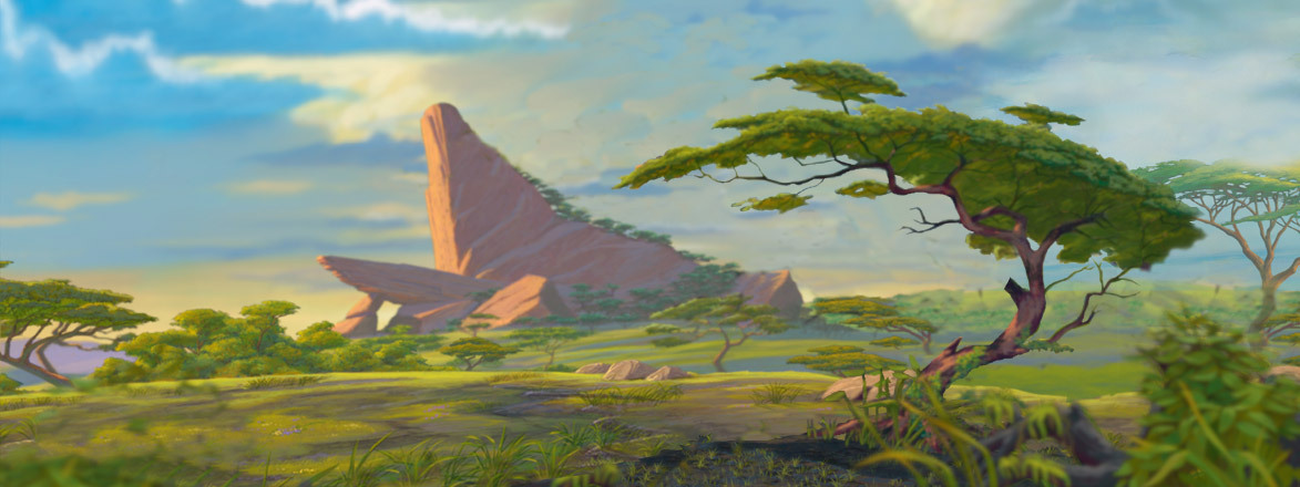 The Lion King Landscapes