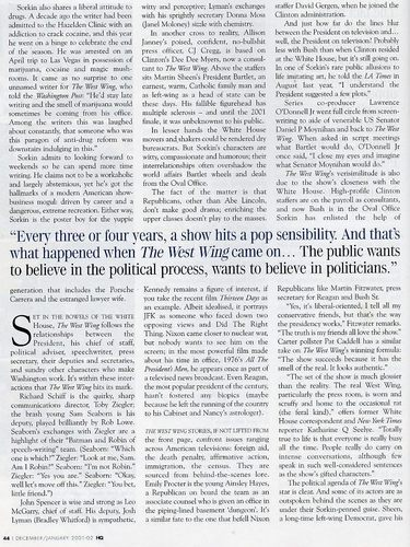 The West Wing- article