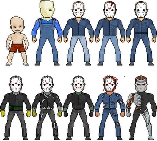 The many looks of jason
