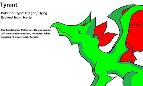 Tyrant, drawn door boltlover, created door DragonsArt