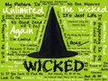 Wicked Lyrics kertas dinding