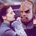 Worf and Jadzia