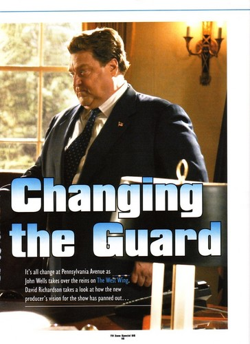 The West Wing wallpaper entitled article The West Wing- Changing of the Guard