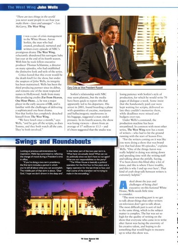 article The West Wing- Changing of the Guard