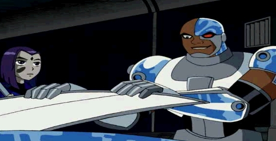Cyborg And Raven Images Cyborg Raven Wallpaper And