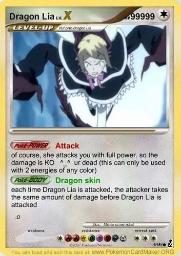 dragon lia card