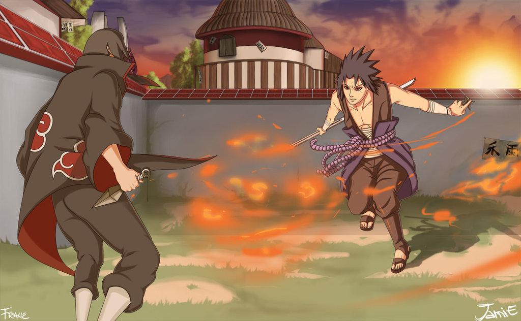 naruto vs sasuke shippuden gif. Itachi+vs+sasuke+funny gif