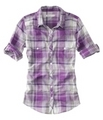 purple plaid<3 - aeropostale photo