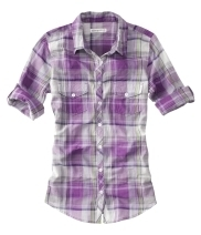 purple plaid<3