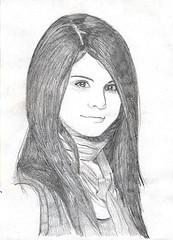 selena drawings