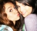 selena, miley - miley-cyrus-vs-selena-gomez icon