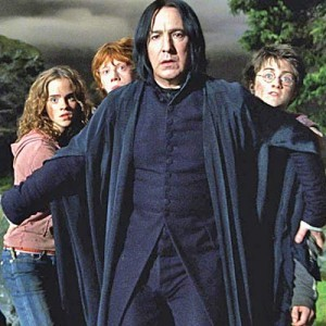 snape and the trio